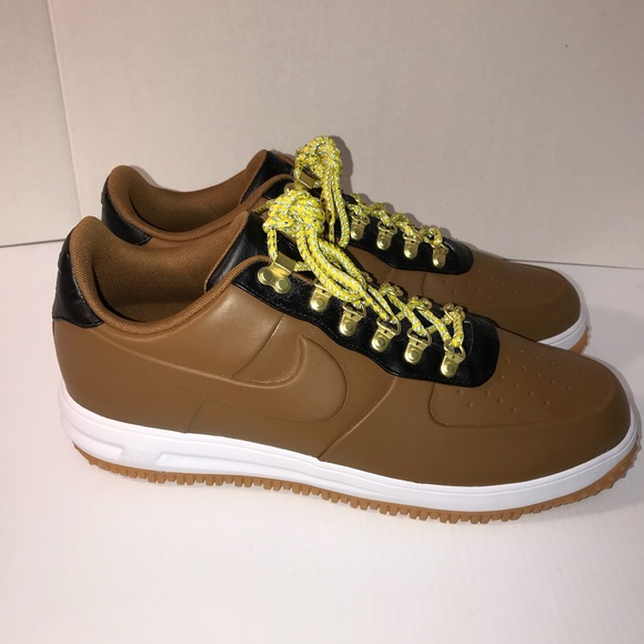 new product 9cbcf 89420 Mens Nike LF1 Duckboot Low Ale Brown Mens Size 14